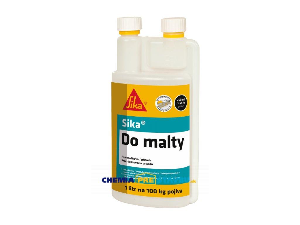 Sika Do malty, 1l - prísada zlepšuje spracovateľnosť malty