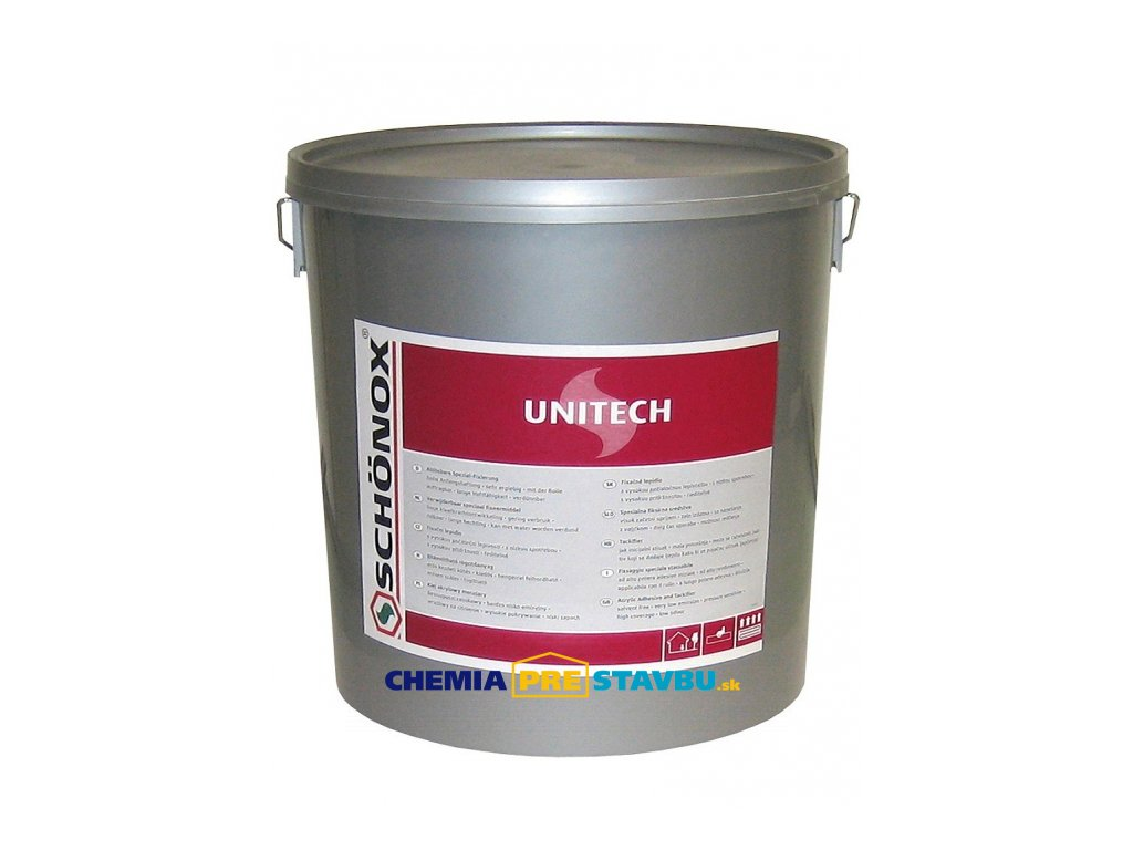 Schönox Unitech - lepidlo na podlahové krytiny