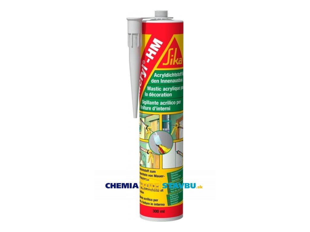 Sikacryl -150 white 300ml - profesionálny akrylový tmel pre maliarov