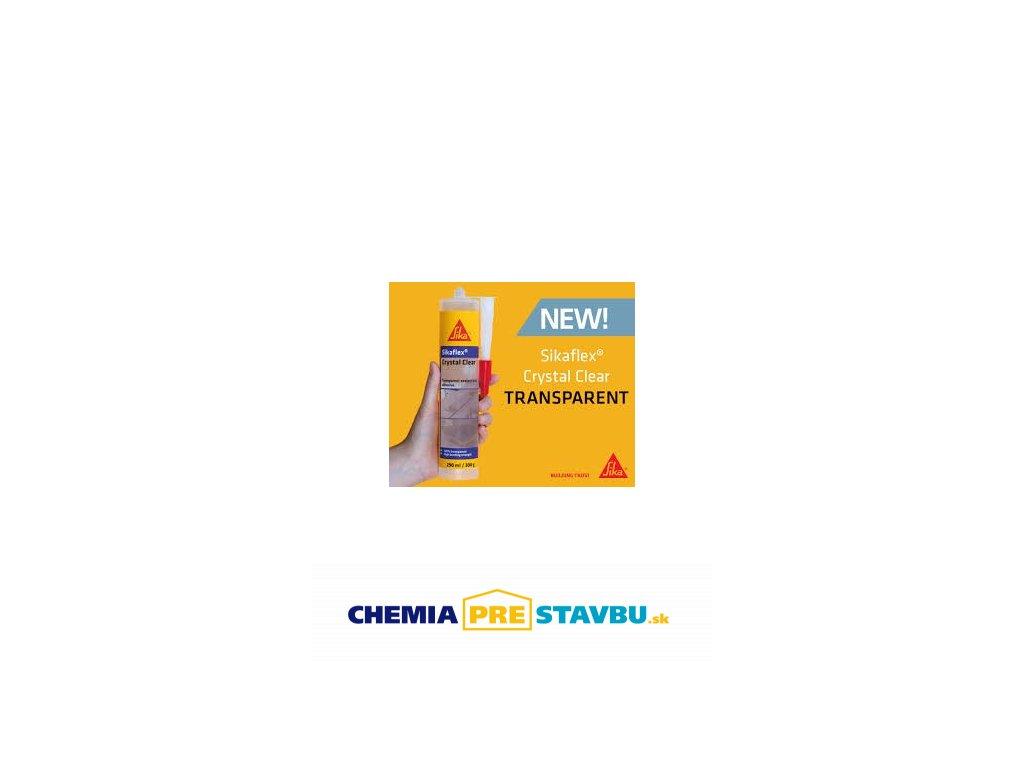 SIKA Sikaflex Crystal Clear 290ml - Transparentný tmel a lepidlo