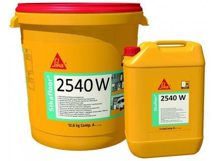 Sikafloor 2540 W - epoxidový podlahový náter
