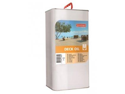 Synteko DECK OIL 1l, 5l - palubovkový olej pre základné ošetrenie