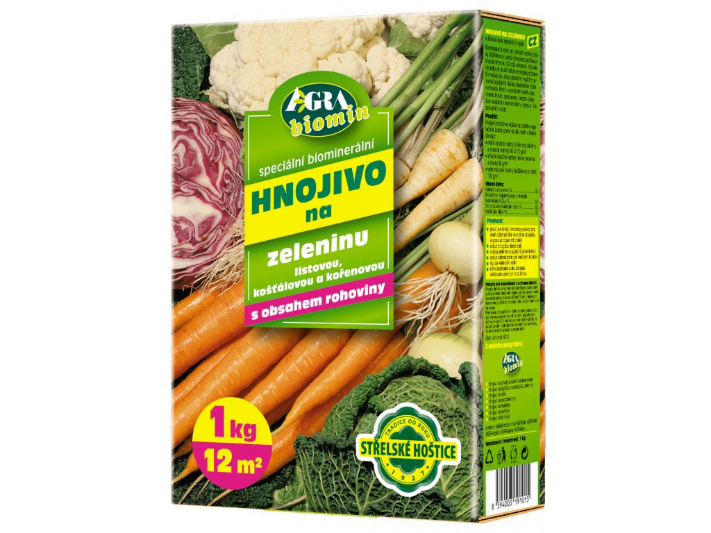 Orgamin na zeleninu  1 kg (biomin)