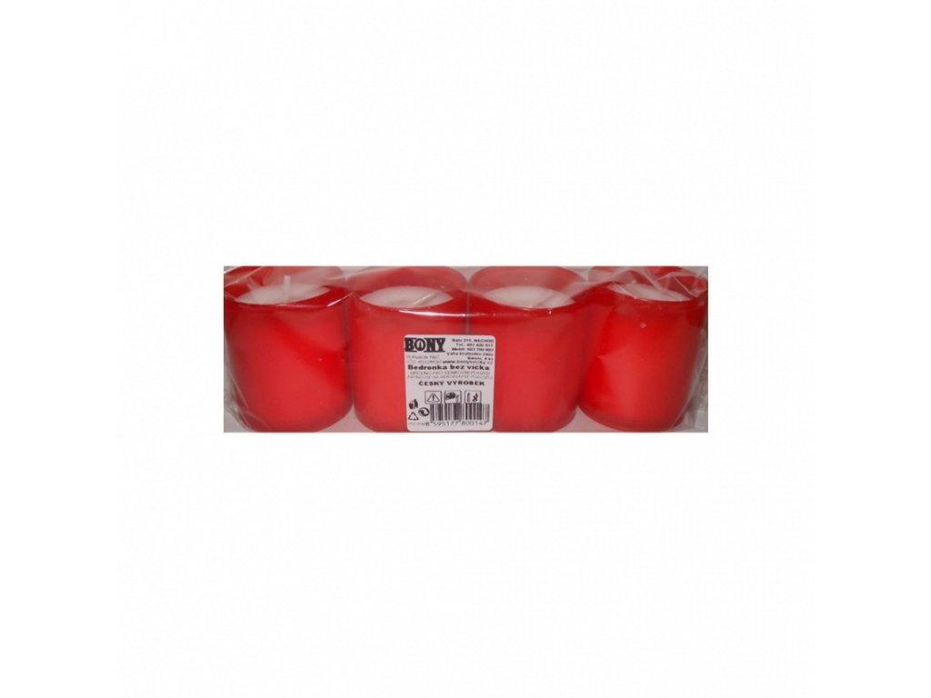 Svíčka - Bedronka bez víčka 4 x 55 g