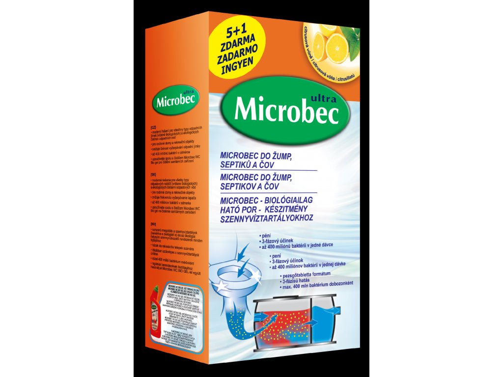 Bros - Microbec do septiků 1 kg