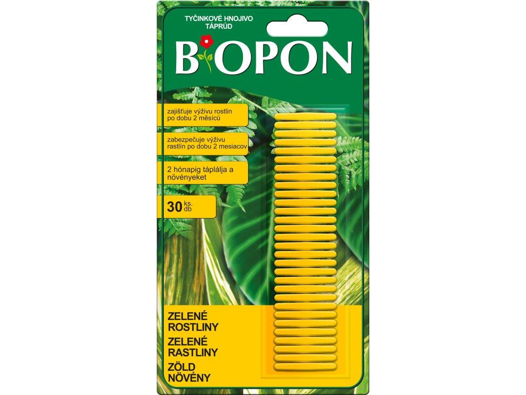 Bopon - tyčinkové hnojivo na zelené rostliny 30 ks