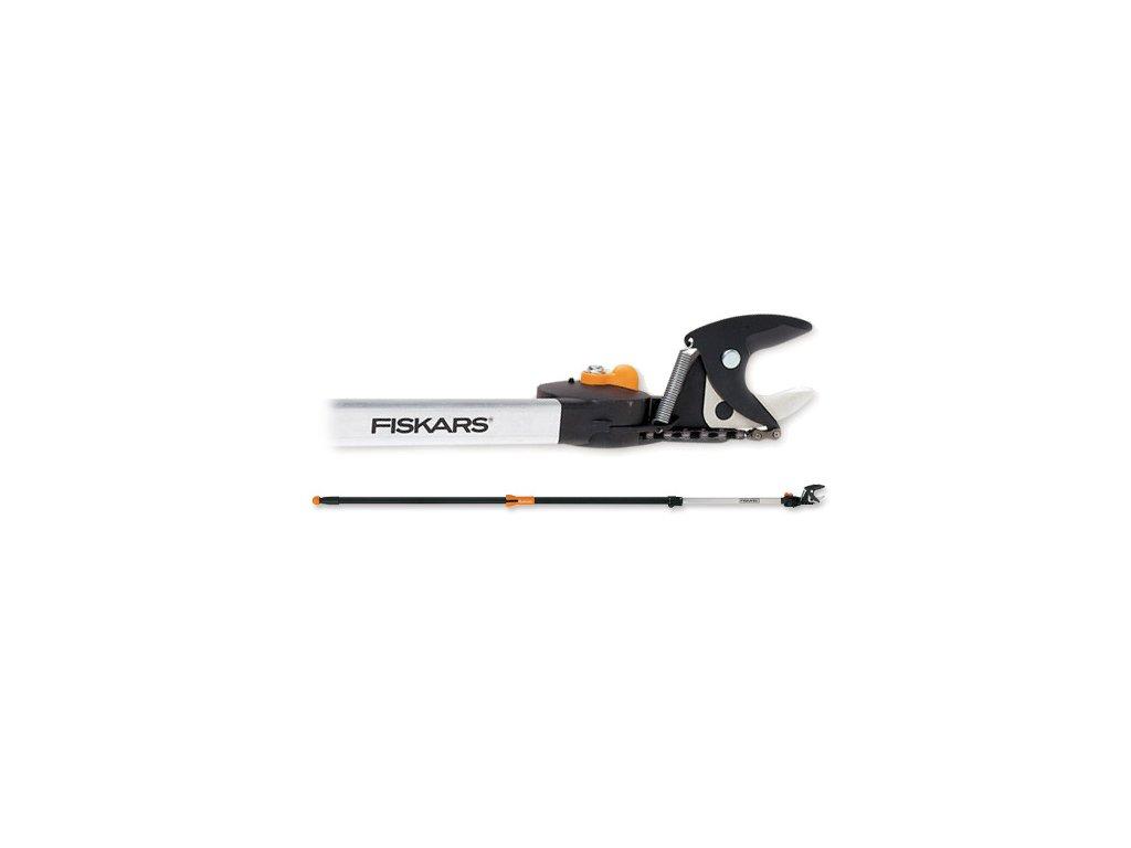 Nůžky do výšek housenice teleskopické UPX86 do 6 metrů - Fiskars