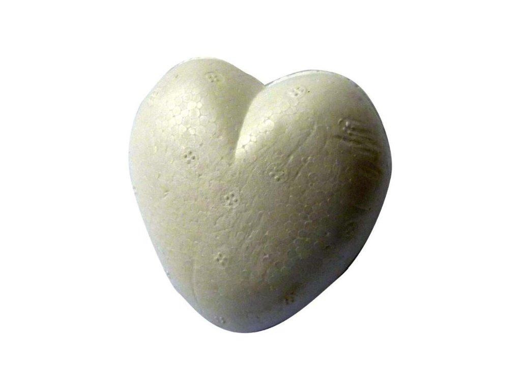 Aranžovací srdce malé POLY (6cm)