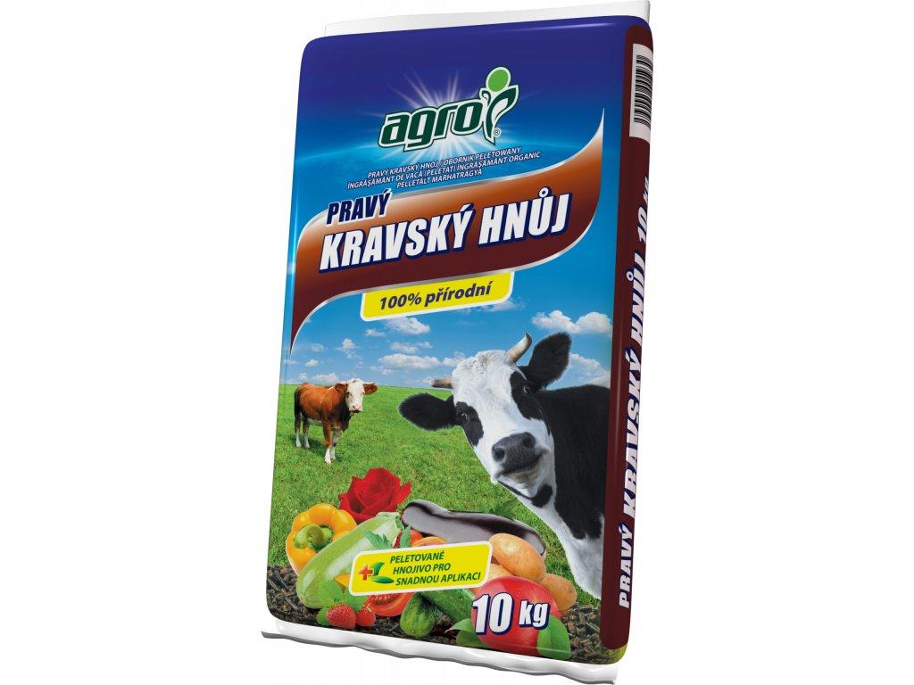 Pravý kravský hnůj granulovaný  10 kg