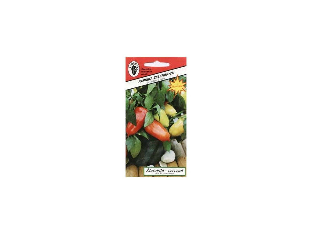 Paprika zeleninová - Balkonovka