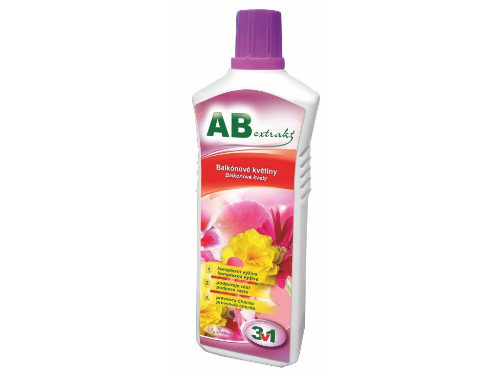 AB extrakt 3 v 1 - pro balkonové rostliny 0,5 l