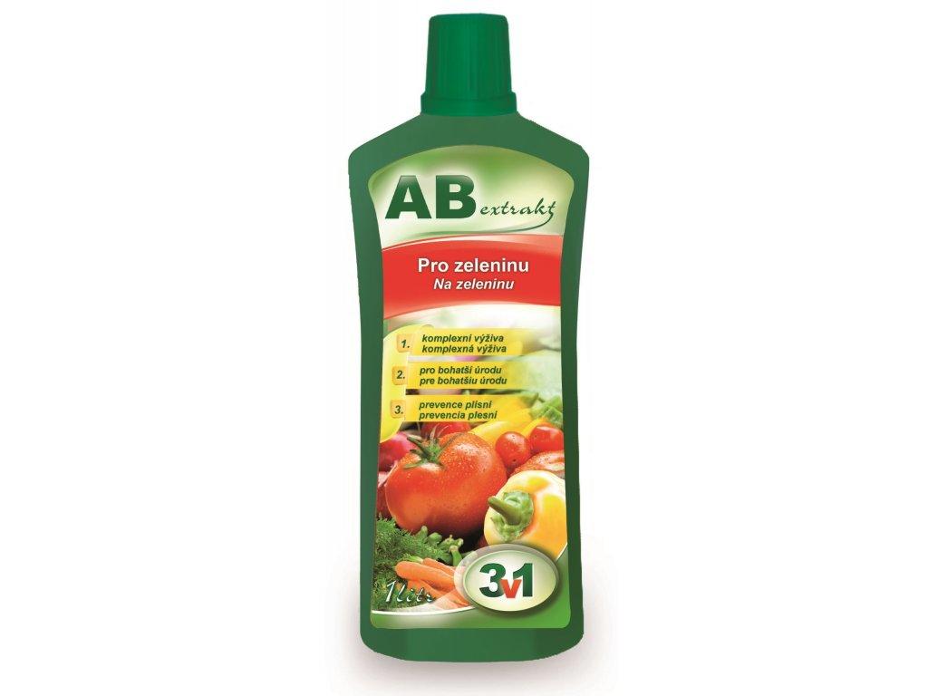 AB extrakt 3 v 1 - pro zeleninu 1 l