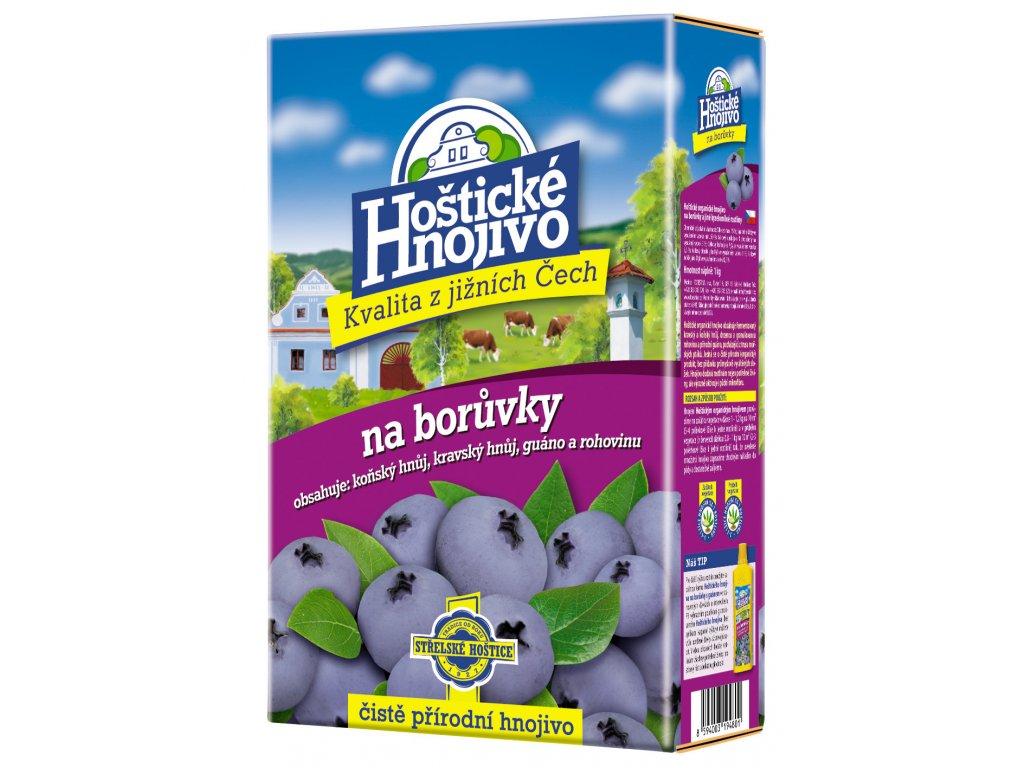 Hoštické hnojivo na Borůvky 1 kg
