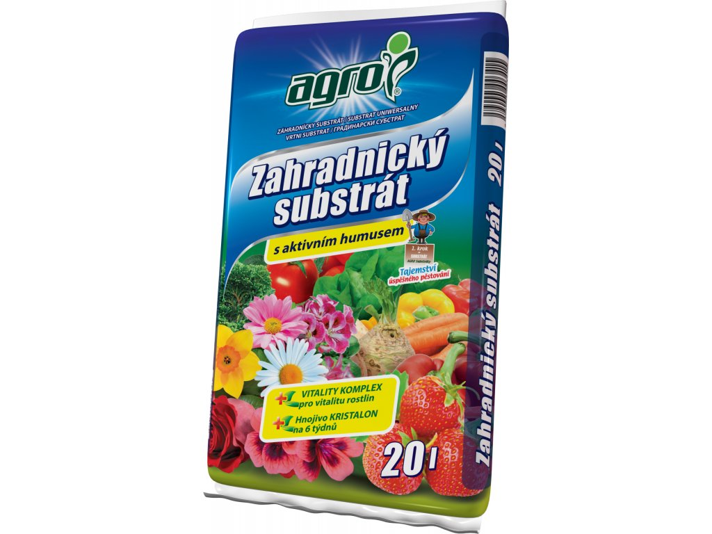 Zahradnický substrát  20 l