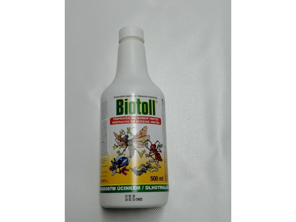 Biotoll uni proti hmyzu 500 ml náhr. náplň