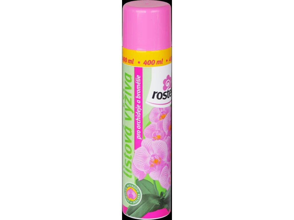 Výživa listová pro orchideje a bromélie Rosteto 400ml sprey