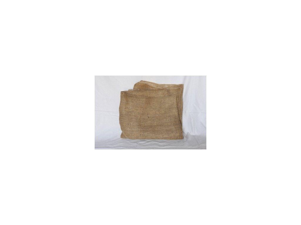 Jutové plachetky přírodní 105g/m2 60x60 cm