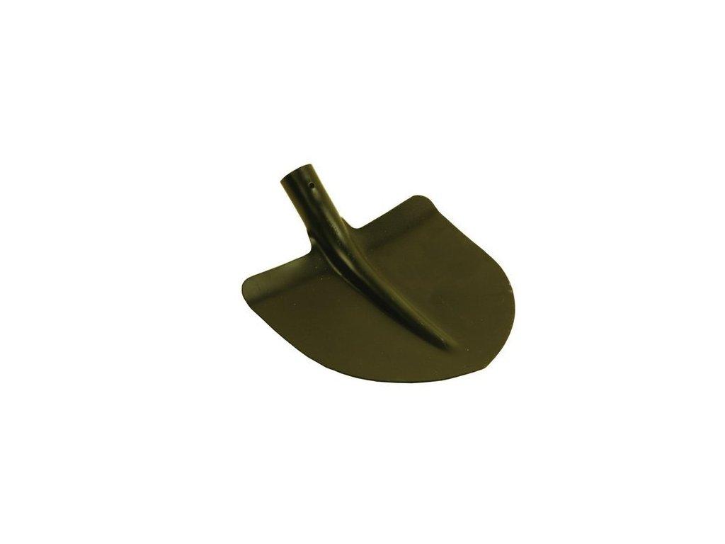 Lopata špičatá černá (bez násady)