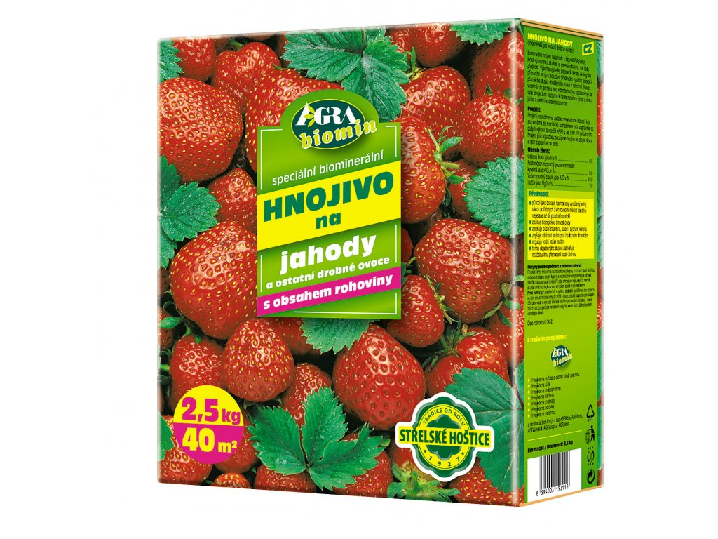 Orgamin na jahody  2,5 kg (biomin)