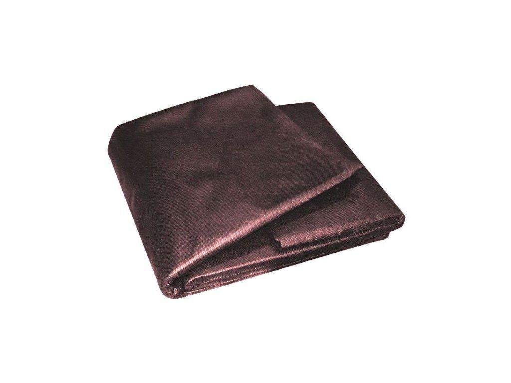 Netkaná textilie 1,6 x 5m, hnědá, 45g, UV