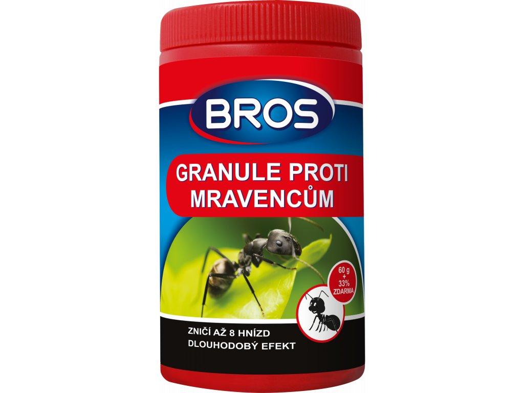 Bros - granule proti mravencům 60 g + 33% zdarma