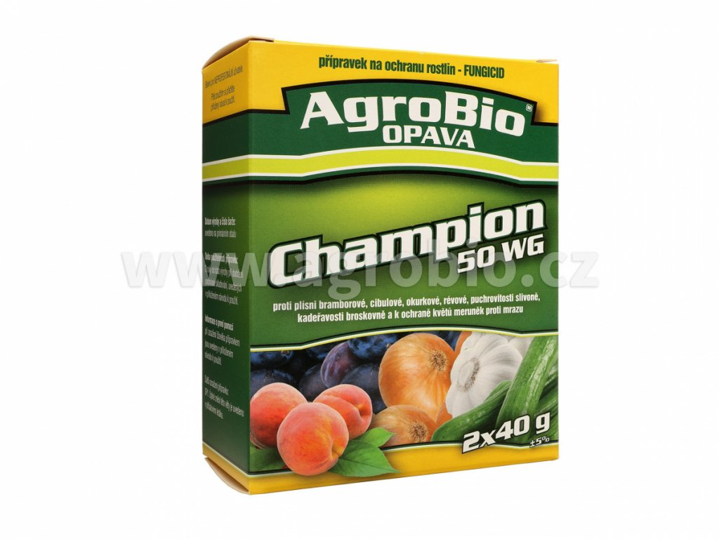 Champion 50 WG   2 x 40 g