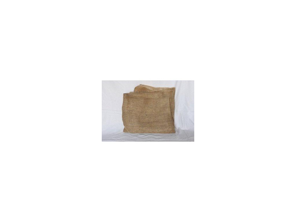 Jutové plachetky přírodní 105g/m2 50x50 cm