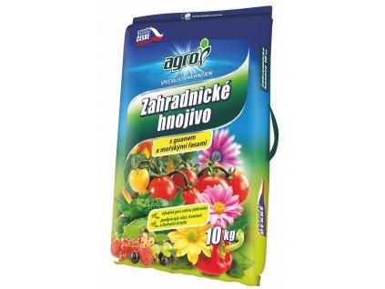 Zahradnické hnojivo s guánem a mořskými řasami 10 kg