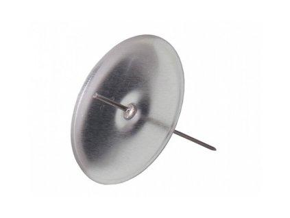 Bodce stříbrné 2 cm - 1 ks