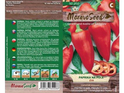Paprika zel na pole raná EVA