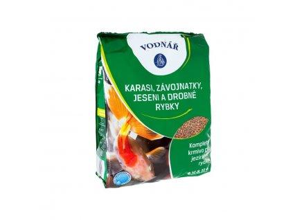 VODNÁŘ - Jezírka Karasi, závojnatky a drobné rybky 0,5 kg