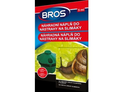 Bros - nástraha na slimáky 5ml, náhra. náplň