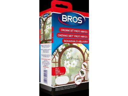 Bros - Okenní síť proti hmyzu 150x180 cm