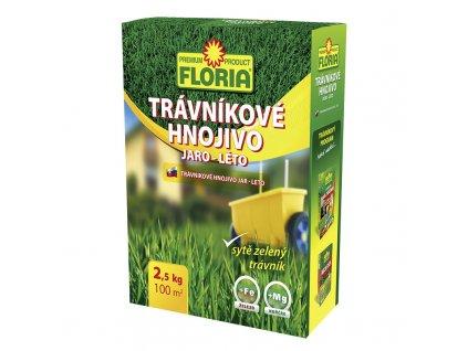 FLORIA Trávníkové hnojivo JARO - LÉTO  2,5kg