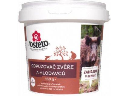 Přírodní odpuzovač zvěře a hlodavců 150 g prášek - Rosteto