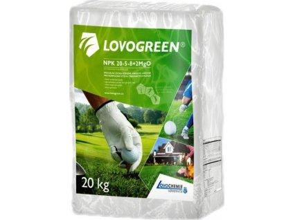 Lovogreen  NPK 20-5-8+2MgO  20 kg (letní)