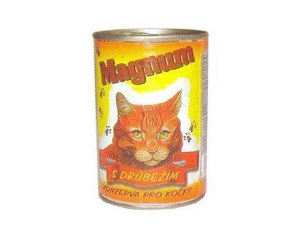 Magnum KOČKA drůbež 410 g