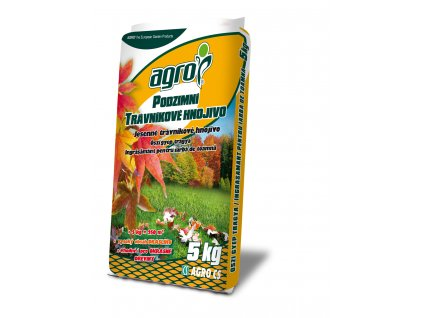 Podzimní trávníkové hnojivo 5 kg