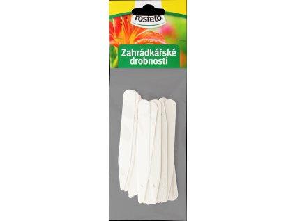 Jmenovka Rosteto - L4 bílá (sada 20ks)