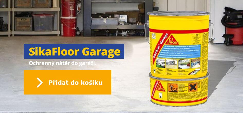 Sikafloor Garage - nátěr do garáže
