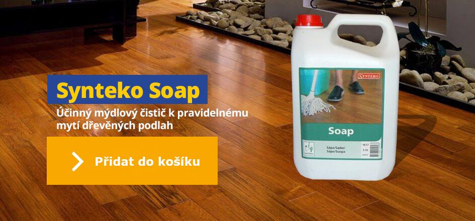 Synteko Soap - účinný mýdlový čistič pro olejované dřevěné podlahy