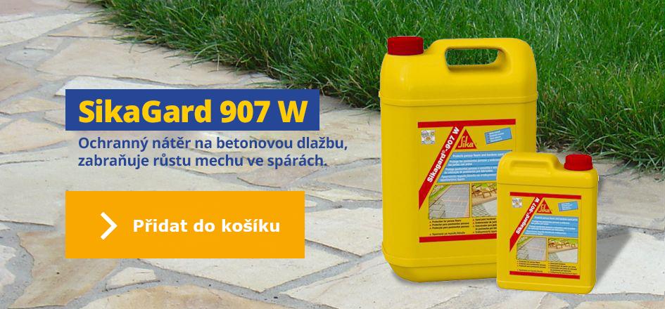Sikagard 907 W - ochranný nátěr na betonovou dlažbu