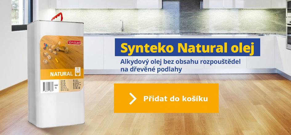 Synteko Natural - olej na dřevěné podlahy