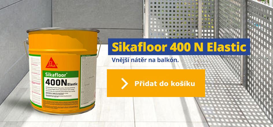 Sikafloor 400 N Elastic - vnější nátěr a hydroizolace na balkon
