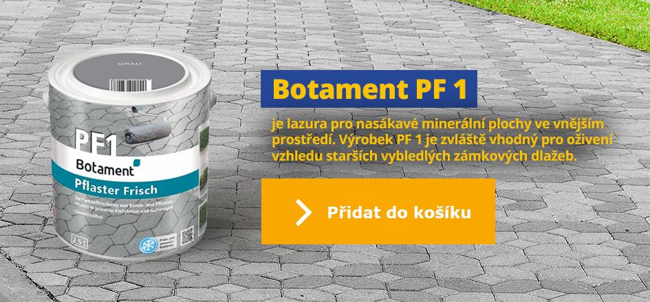 Botament PF 1, ošetřující lazura betonu