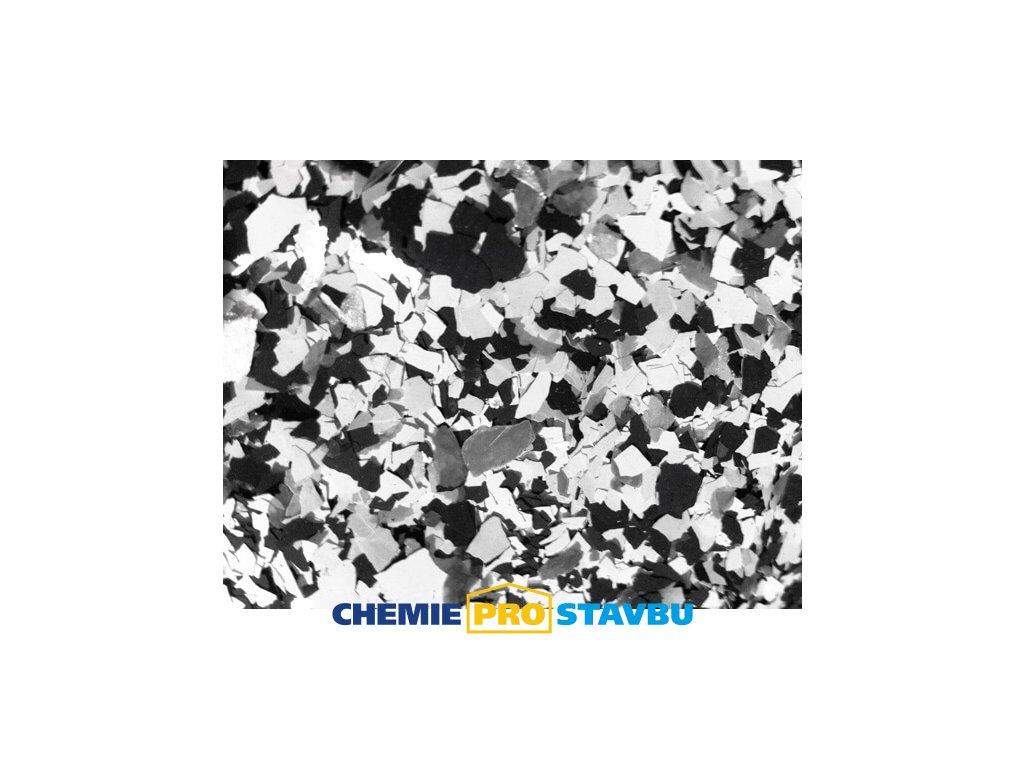 Sikafloor Colorchips N, 0,4 kg  - směs chipsů na podlahy  ( bílá, černá, šedá )