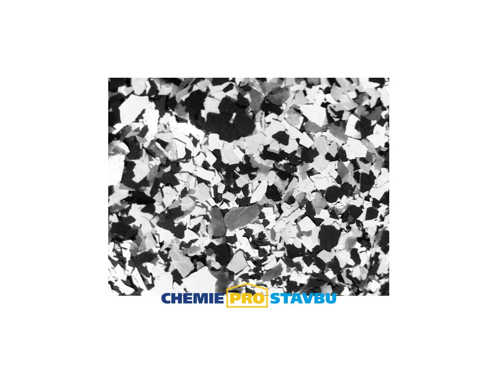 Sikafloor Colorchips N - 0,4 kg , směs chipsů na podlahy  ( bílá, černá, šedá )