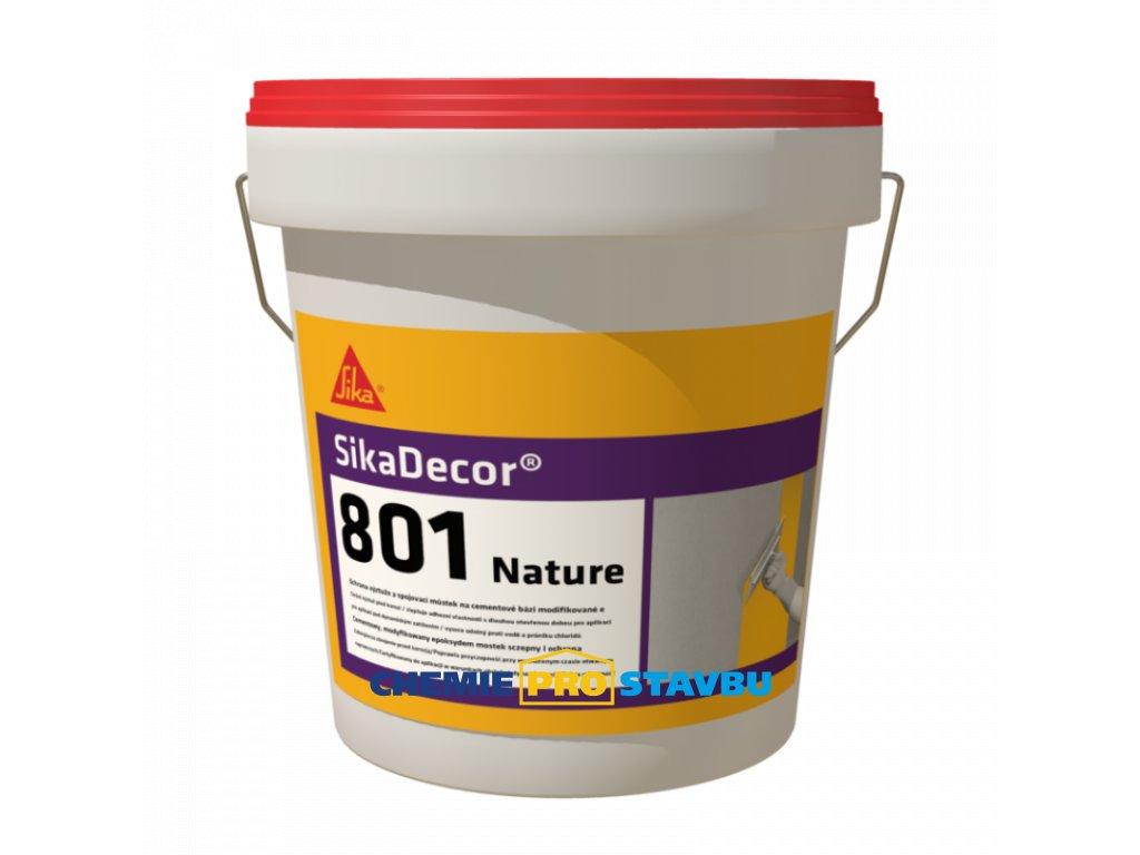 SikaDecor-801 Nature, dekorativní barevný mikrocement pro vnitřní aplikaci