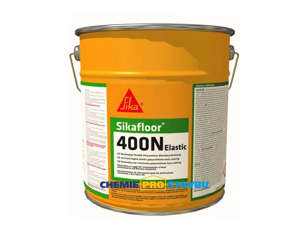 Sikafloor 400 N Elastic 6kg - PU venkovní nátěr