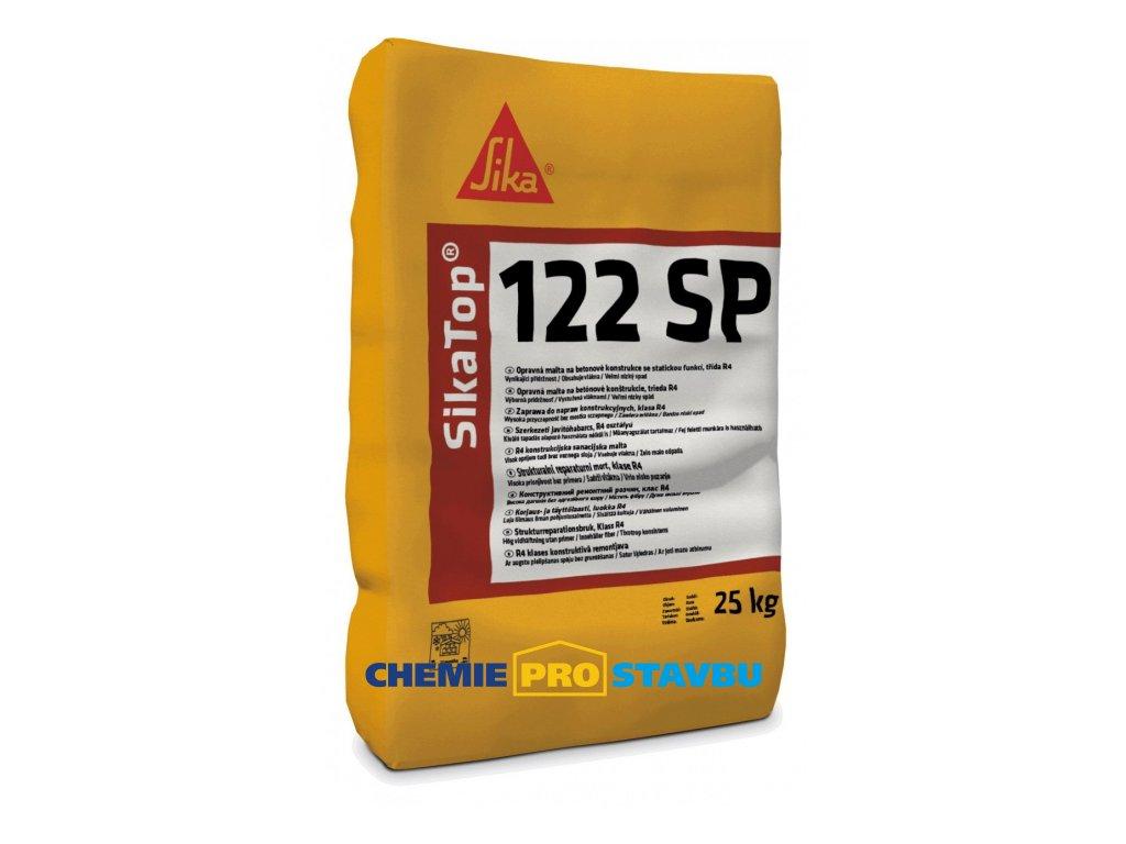 Sika Top 122 SP, 25 kg - opravná malta na betonové konstrukce se statickou funkcí